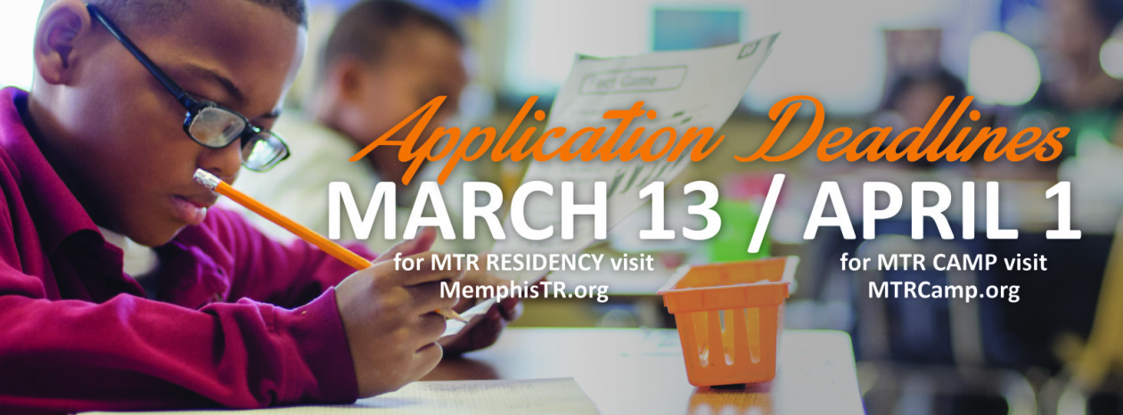 MTR and MTR Camp Application Deadlines